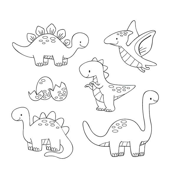 dibujos de dinosaurios animados
